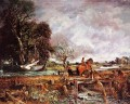 The leaping horse Romantic landscape John Constable stream
