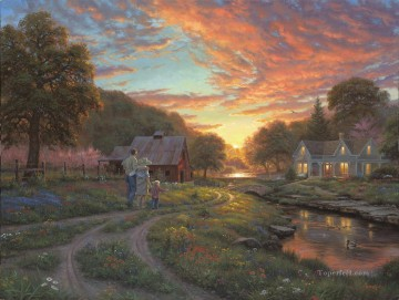 Moments to Remember Keathley Landscapes stream Oil Paintings