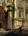 Corner of the Church of St Stae John Singer Sargent Venice