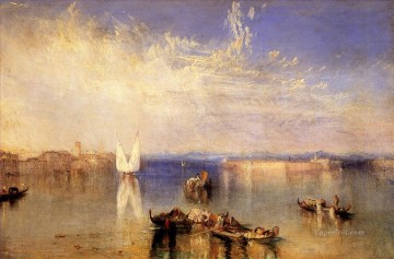 Campo Santo Romantic landscape Joseph Mallord William Turner Venice Oil Paintings
