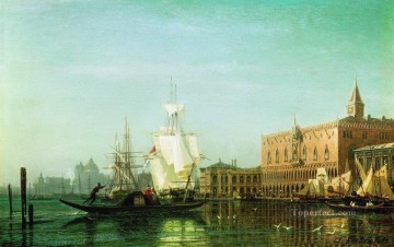 Artworks in 150 Subjects Painting - venice Alexey Bogolyubov cityscape city scenes