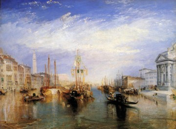 Cityscape Painting - The Grand Canal Romantic landscape Joseph Mallord William Turner Venice