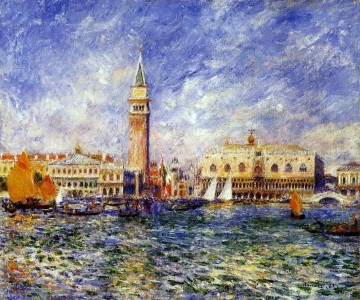 doges palace venice Pierre Auguste Renoir Venice Oil Paintings