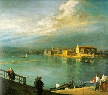 san cristoforo san michele murano Canaletto Venice Oil Paintings