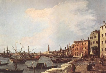 Riva degli Schiavoni west side Canaletto Venice Oil Paintings