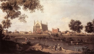eton college chapel Canaletto Venice Oil Paintings