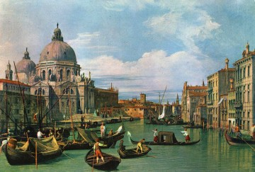 Lute Art - The Grand Canal and the Church of the Salute Canaletto Venice