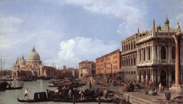Cityscape Painting - The Molo Looking West Canaletto Venice