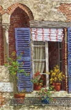 YXJ0290e Europe Towns Oil Paintings