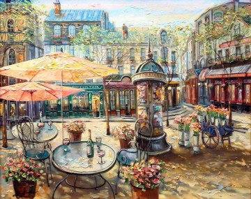 UX005 European Towns Oil Paintings