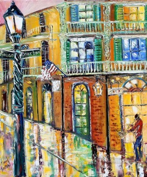 New Orleans Magic cityscapes Oil Paintings