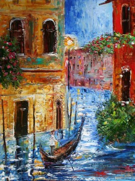 3d magic fantasy Painting - Venice Magic cityscapes