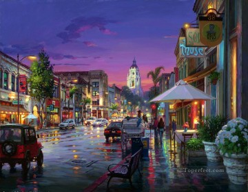 Other Urban Cityscapes Painting - After Shower urban