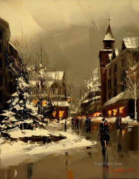 Other Urban Cityscapes Painting - KG cityscape 13