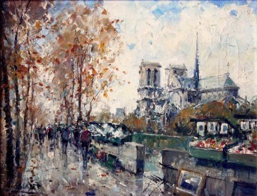 contemporary 06 cityscape modern city scenes Oil Paintings