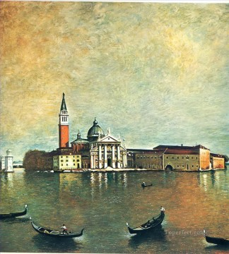 island san giorgio 1967 Giorgio de Chirico city Oil Paintings