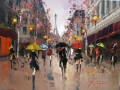 KG Romance in Paris cityscapes