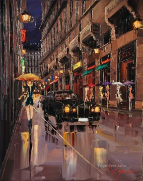 Other Urban Cityscapes Painting - KG Temptation