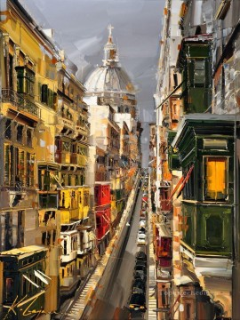 Other Urban Cityscapes Painting - KG cityscape 04