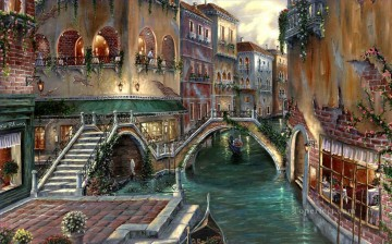 Venice Romance Robert Final cityscapes Oil Paintings