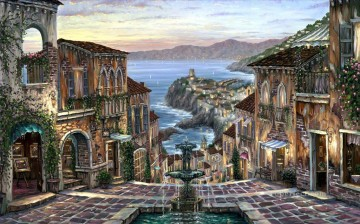 Other Urban Cityscapes Painting - Vernazza Heartwarming cityscapes