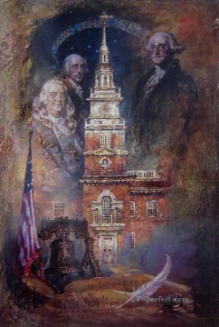 Other Urban Cityscapes Painting - We The People urban