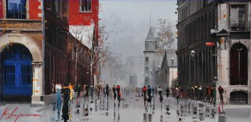 Other Urban Cityscapes Painting - KG La place dYouville
