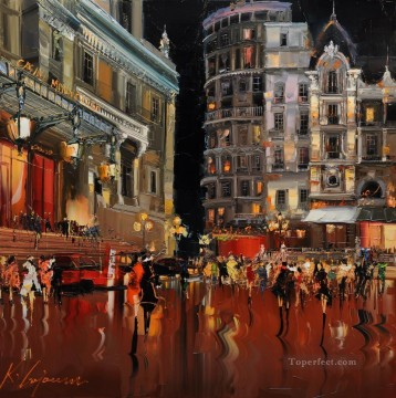 Other Urban Cityscapes Painting - KG cityscape 11