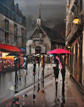 Other Urban Cityscapes Painting - QUEBEC city KG