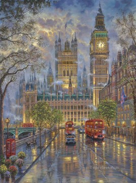 Other Urban Cityscapes Painting - urban scene