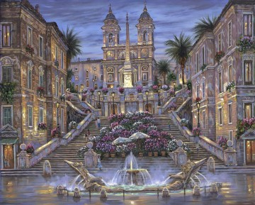 RF cityscapes Oil Paintings
