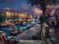 Banks of La Seine cityscape modern city scenes