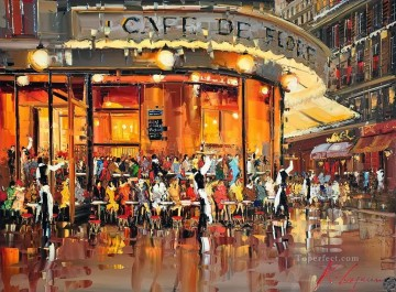 Other Urban Cityscapes Painting - KG 34 Cityscapes