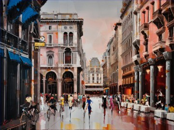 Other Urban Cityscapes Painting - KG Milano Fashion