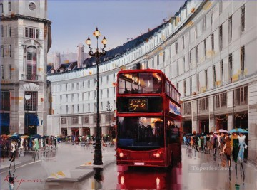Other Urban Cityscapes Painting - KG Regent Street