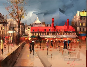 Artworks in 150 Subjects Painting - QUEBEC 3 city KG