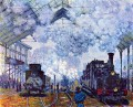 Monet St Lazare Station Paris