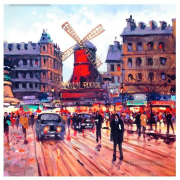 Paris Painting - Paris moulin
