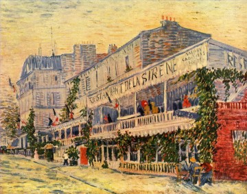 Paris Painting - Vincent Willem van Gogh Das Restaurant Paris