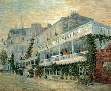 Paris Painting - van gogh Das Restaurant Paris