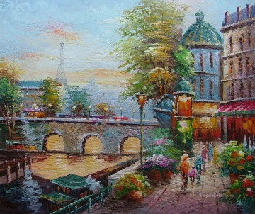 Paris Painting - yxj038fB impressionism Paris scenes