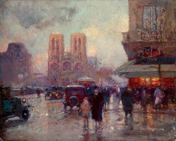 EC biographie rue Paris Oil Paintings