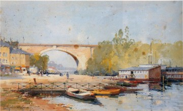 Artworks in 150 Subjects Painting - Paris scenes 03 Eugene Galien