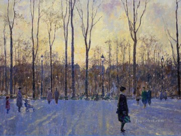 Paris Painting - the tuilleries paris france charles neal