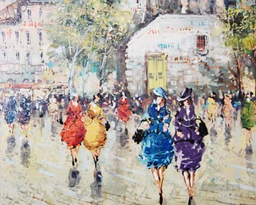 Artworks in 150 Subjects Painting - st054D impressionism Parisian scenes