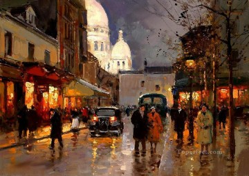 yxj041fD impressionism Parisian scenes Oil Paintings