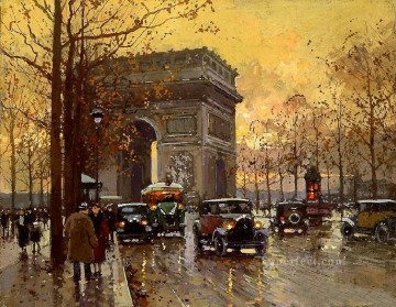 yxj045fD impressionism Parisian scenes Oil Paintings
