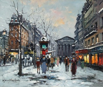 AB rue tronchet la madeleine 1 Paris Oil Paintings