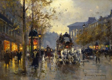 EC boulevard de la madeleine Paris Oil Paintings