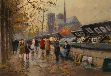 EC bouquinistes 1 Paris Oil Paintings